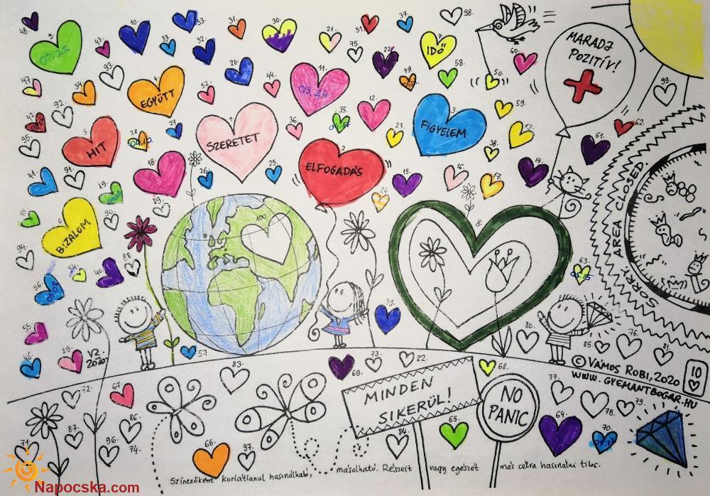 70 szív